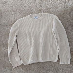 Urban Outfitters white knit sweater